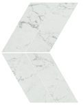 Marvel Stone Carrara Pure Chevron Lappato 22,5x22,9