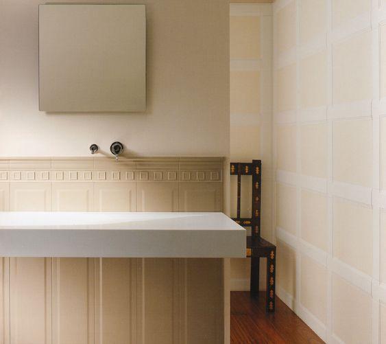 Forum rivestimenti per bagni con planimetria - Bagno con boiserie ...